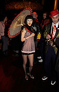 Tomoko. 25th anniversary party and fashion show by Agent Provocateur at the Cafe de Paris, Coventry Street, London W1 on 14th February 2005.ONE TIME USE ONLY - DO NOT ARCHIVE  © Copyright Photograph by Dafydd Jones 66 Stockwell Park Rd. London SW9 0DA Tel 020 7733 0108 www.dafjones.com