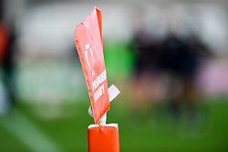 A general view of Premiership Rugby branding  prior to kick off - Mandatory by-line: Ryan Hiscott/JMP - 17/11/2018 - RUGBY - Sandy Park Stadium - Exeter, England - Exeter Braves v Gloucester United - Premiership Rugby Shield