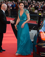 The Duchess of Cambridge arrives for the &quot;Our Greatest Team Rises&quot; Gala at the Royal Albert Hall, London, on the 11th May 2012.<br /> <br /> PICTURE BY JAMES WHATLING