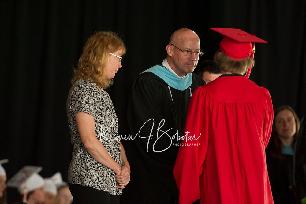 Belmont High School commencement at Meadowbrook Pavilion Sunday June 9, 2013.  Karen Bobotas/for the Laconia Daily Sun