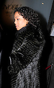 22.FEBUARY.2010.LONDON<br /> <br /> JANET JACKSON LEAVING NOBU RESTAURANT, BERKLEY SQUARE BEFORE RETURNING BACK TO HER HOTEL.<br /> <br /> BYLINE: EDBIMAGEARCHIVE.COM<br /> <br /> *THIS IMAGE IS STRICTLY FOR UK NEWSPAPERS AND MAGAZINES ONLY FOR WORLD WIDE SALES AND WEB USE PLEASE CONTACT EDBIMAGEARCHIVE - 0208 954 5968*