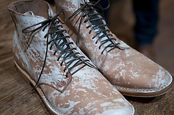 Picture shows Viberg Boots<br /> Bread and Butter Berlin, January 16-19th 2014.<br /> <br /> Credit should read: Picture by Mark Larner