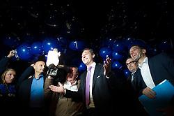 05.10.2015, Sofiensäle, Wien, AUT, ORF-Puls4 TV-Konfrontation, Elefantenrunde zur Wien-Wahl 2015, im Bild v.l.n.Spitzenkandidat und FPÖ Chef Heinz-Christian Strache und Nationalratsabgeordneter FPÖ Herbert Kickl // before Television confrontation beetwen Topcandidates for viennese state elcetion at Sofiensäle in Vienna, Austria on 2015/10/05, EXPA Pictures © 2015, PhotoCredit: EXPA/ Michael Gruber