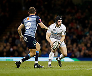 Ospreys' Dan Evans<br /> <br /> Photographer Simon King/Replay Images<br /> <br /> Guinness PRO14 Round 21 - Cardiff Blues v Ospreys - Saturday 28th April 2018 - Principality Stadium - Cardiff<br /> <br /> World Copyright © Replay Images . All rights reserved. info@replayimages.co.uk - http://replayimages.co.uk