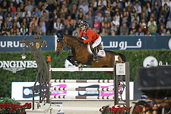 Hough Lauren, (USA), Ohlala<br /> Final<br /> Furusiyya FEI Nations Cup Jumping Final - Barcelona 2015<br /> © Dirk Caremans<br /> 26/09/15