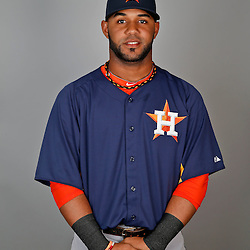 Feb 21, 2013; Kissimmee, FL, USA; Houston Astros shortstop Jonathan Villar (76) during photo day at Osceola County Stadium. Mandatory Credit: Derick E. Hingle-USA TODAY Sports