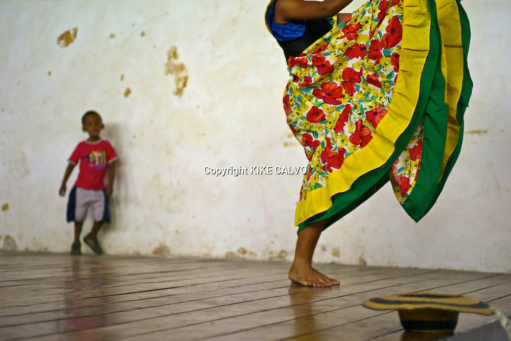 Mapale dancers. Cartagena. Colombia.