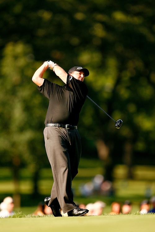 CHICAGO, ILLINOIS - AUGUST 17, 2006.Phil MICKELSON of the USA during the first round of the 88th PGA Championship at the Medinah Country Club in Chicago, Illinois