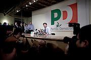 ROMA. DARIO FRANCESCINI DURANTE UNA CONFERENZA STAMPA NELLA SEDE DEL PARTITO DEMOCRATICO