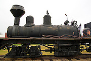 Wisconsin USA, the national railroad museum at Green Bay, WI. Antique trains November 2006