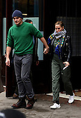 Rupert Friend and his fiance Aimee Mullins
