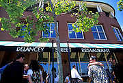 Image of Delancey Street Restaurant at South Beach, San Francisco, California, America west coast