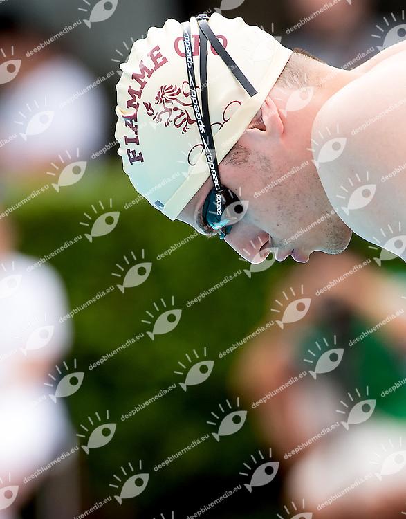 Stefano Pizzamiglio ITA Italy Fiamme Oro<br /> 50 Dorso Backstroke men<br /> day 01 12/06/2015    finali finals<br /> 52 Trofeo Settecolli Clear Internazionali d'Italia<br /> Roma Italy 12-14 giugno 2015 <br /> Photo Giorgio Scala/Deepbluemedia/Insidefoto