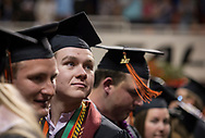 2017 Spring CASNR Commencement.<br /> Students in the College of Agricultural Sciences and Natural Resources mark the completion of undergraduate studies in the annual spring commencement.