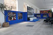 BARI 11.04.2010<br /> PIAZZA FERRARESE-SALA MURAT<br /> CONFERENZA STAMPA DI PRESENTAZIONE DEGLI INCONTRI<br /> DI QUALIFICAZIONE AI CAMPIONATI EUROPEI 2011<br /> NELLA FOTO LA SALA DELLA CONFERENZA