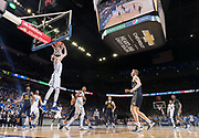 Creighton's Jacob Epperson (41) dunks in the second half. Creighton played Marquette in a men's NCAA basketball game at the CenturyLink Center on Saturday, Feb. 17, 2018, in Omaha.<br /> <br /> MATT DIXON/THE WORLD-HERALD