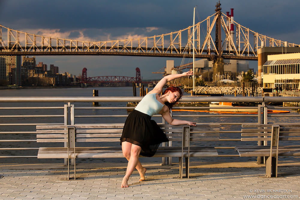 New York City Dance Photography- Dance As Art Gantry State Park with dancer Katie Stehura