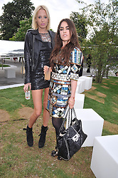 Left to right, The HON.SOPHIA HESKETH and the HON.TALLULAH ORMSBY-GORE at the annual Serpentine Gallery Summer Party sponsored by Canvas TV  the new global arts TV network, held at the Serpentine Gallery, Kensington Gardens, London on 9th July 2009.