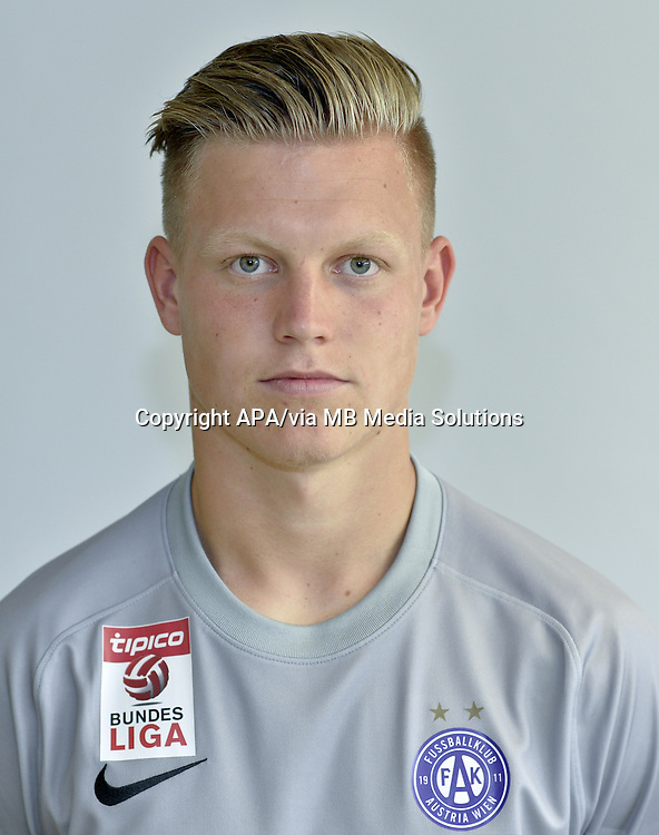 Vienna - Portraits of the football players of the Austrian football club FK Austria Wien on 1st July 2015.   PICTURE: Patrick Pentz - 20150701_PD2477