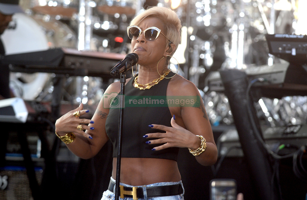Mary J. Blige on stage for NBC Today Show Concert with at the Rockefeller Plaza, New York, NY May 19, 2017. Photo By Dennis Van Tine/ABACAPRESS.COM