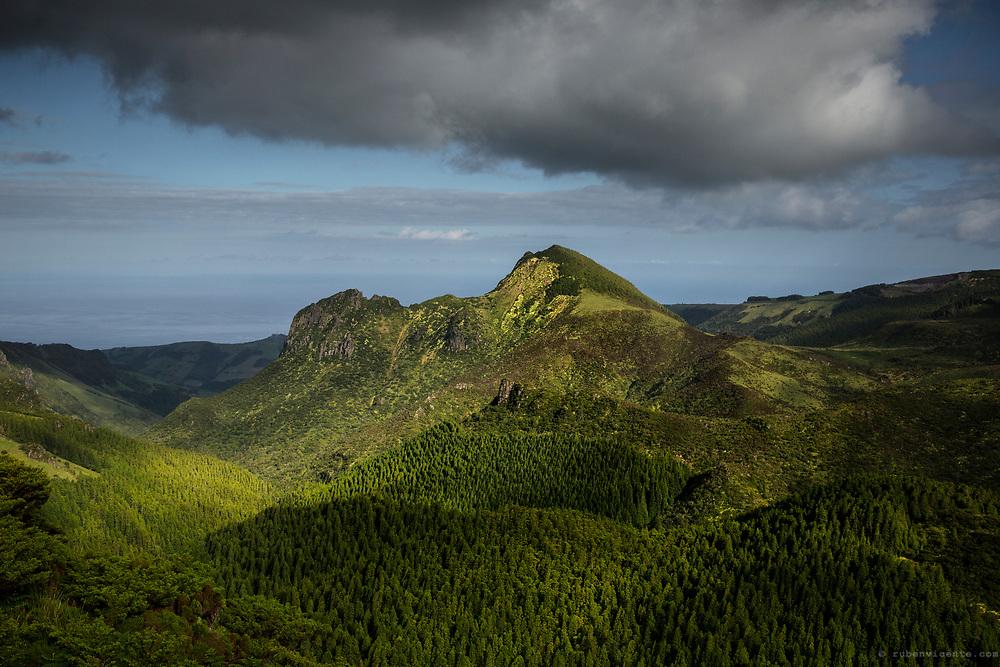 Pico da Sé. Flores, Azores, Portugal