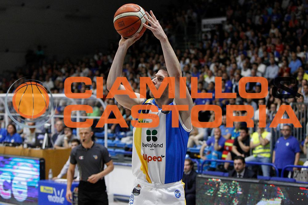 Ivanovic Nikola<br /> Betaland Capo D'Orlando - EA7 Emporio Armani Milano<br /> Lega Basket Serie A 2016/2017<br /> Playoff Gara 4<br /> Capo d'Orlando 18/05/2017<br /> Foto Ciamillo-Castoria