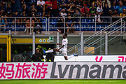 Torino's Soualiho Meite celebrates after goal in action during the Italian Serie A football match Inter Milan v Torino on August 26, 2018 at the San Siro Stadium in Milan, Italy, Photo Morgese - Rossini / ProSportsImages / DPPI