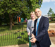 Secretary of State for Culture, Media and Sport Rt Hon Sajid Javid MP officially reopens Speakers' Corner in Hyde Park following its refurbishment.<br />