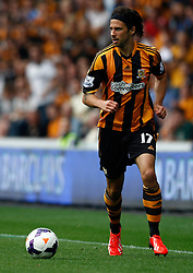 Hull City's George Boyd  - Photo mandatory by-line: Matt Bunn/JMP - Tel: Mobile: 07966 386802 24/08/2013 - SPORT - FOOTBALL - KC Stadium - Hull -  Hull City V Norwich City - Barclays Premier League