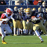 Salesianum split end Jeremy Ryan (5) scores a touchdown in the second quarter during a DIAA Division I championship game between Smyrna and Salesianum Saturday, Dec. 05, 2015 at Delaware Stadium in Newark.