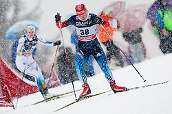 Julia Tikhonova of Russia during women 9 km pursue race at the cross country Tour de Ski 2014 of the FIS cross country World cup competition on January 5th, 2014 in Alpe Cermis, Val di Fiemme, Italy. (Photo by Urban Urbanc / Sportida)