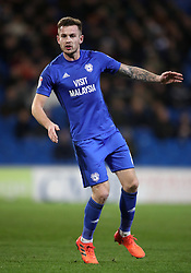 "Cardiff City's Joe Ralls during the Sky Bet Championship match at The Den, London. PRESS ASSOCIATION Photo. Picture date: Friday December 29, 2017. See PA story SOCCER Cardiff. Photo credit should read: Nick Potts/PA Wire. RESTRICTIONS: EDITORIAL USE ONLY No use with unauthorised audio, video, data, fixture lists, club/league logos or ""live"" services. Online in-match use limited to 75 images, no video emulation. No use in betting, games or single club/league/player publications."