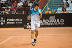 March 3, 2019 - SãO Paulo, Brazil - SÃO PAULO, SP - 03.03.2019: BRASIL OPEN 2019 ATP 250 - Final of Brazil Open ATP 250 - Ibirapuera Gymnasium. Christian GARIN (CHI) and Guido PELL (ARG) face each other for the title. São Paulo, March 03, 2019. (Credit Image: © Van Campos/Fotoarena via ZUMA Press)
