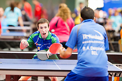 Luka Trtnik at 14th Slovenia Open - Thermana Lasko 2017 Table Tennis for the Disabled Factor 40, on May 6, 2017, in Dvorana Tri Lilije, Lasko, Slovenia. Photo by Urban Urbanc / Sportida