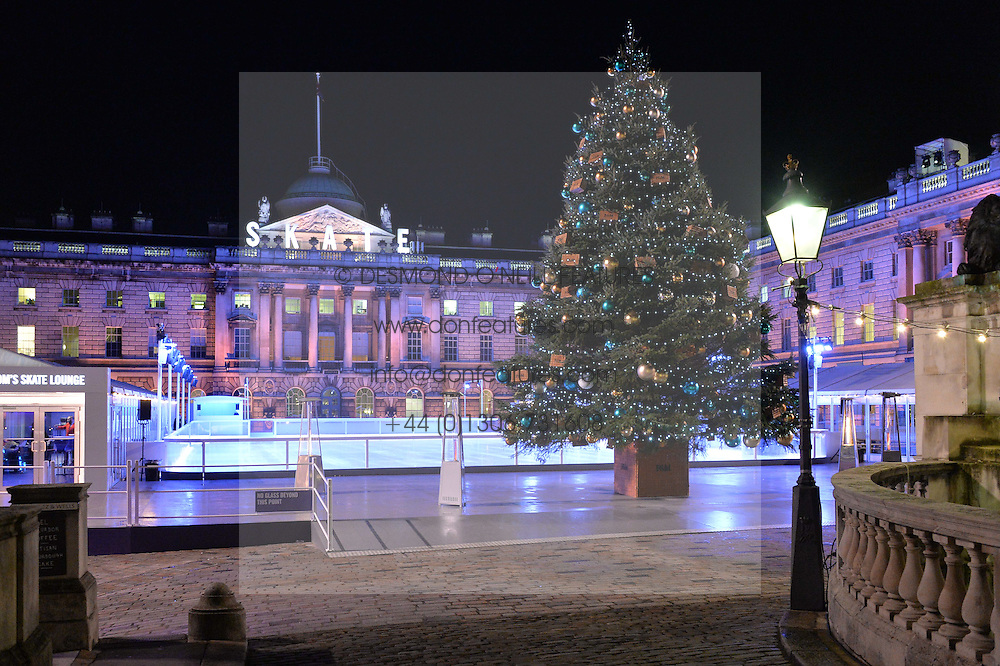 View at Skate at Somerset House in association with Fortnum & Mason held on 10th November 2014.