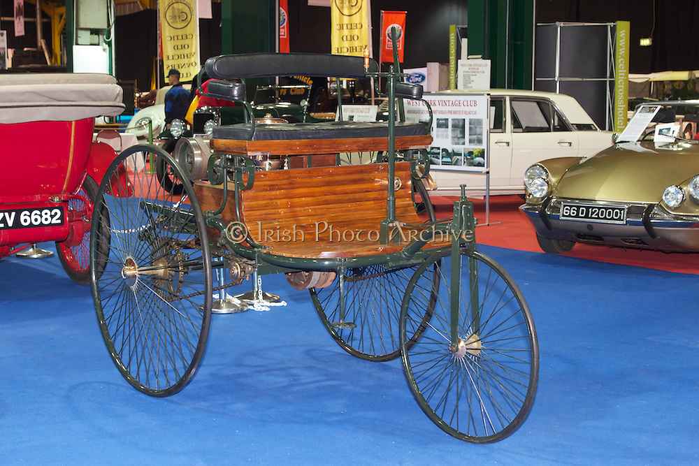 1886 Benz Patent Motor Car | Irish Photo Archive