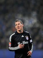 Fussball  1. Bundeslga  Saison 2008/2009   30.01.2009   Hamburger SV - Bayern Muenchen Bastian SCHWEINSTEIGER (Muenchen) enttaeuscht nach vergebener Torchance.