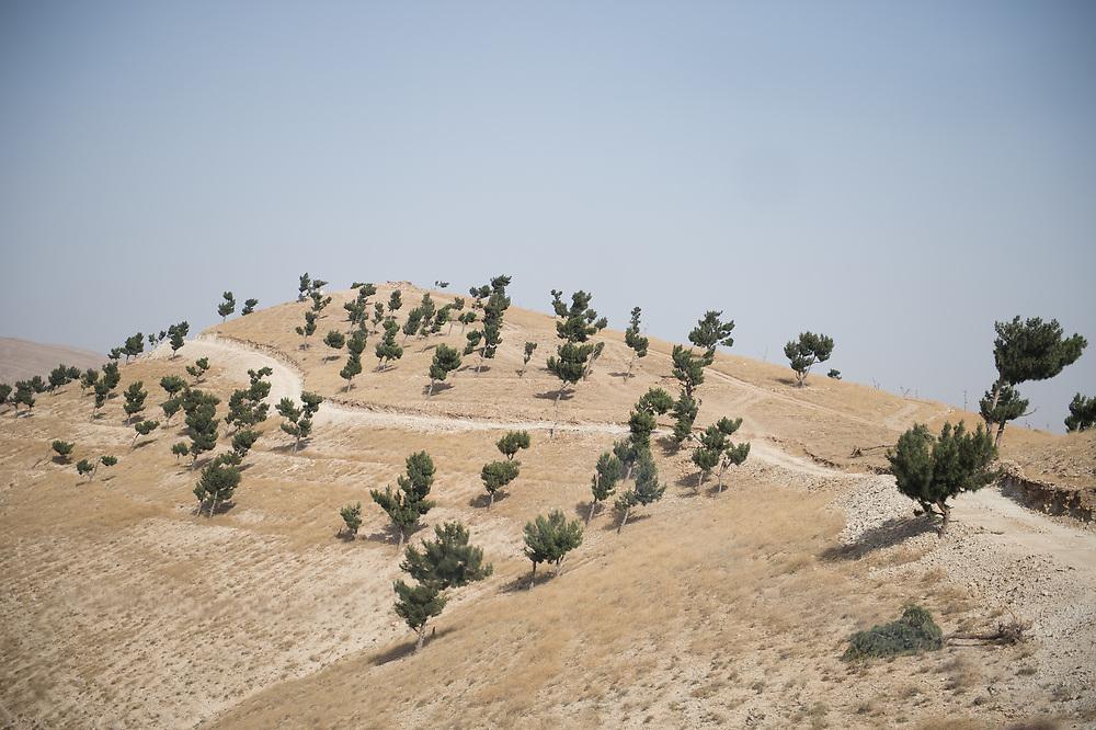 Landscape in Shingal (Sinjar), Iraq, September 8, 2015