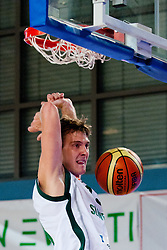 Zoran Dragic of Slovenia at exhibition game between Slovenia and Poland for Primus Trophy 2011Lithuania as part of exhibition games before European Championship L2011on July 23, 2011, in Ljudski Vrt, Ptuj, Slovenia. (Photo by Matic Klansek Velej / Sportida)