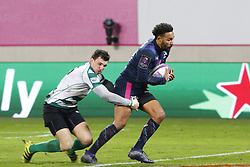 December 8, 2017 - Paris, France, France - Premier essai de Yobo pour le Stade Francais (Credit Image: © Panoramic via ZUMA Press)
