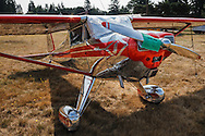 Luscombe 8C at the Northwest Antique Airplane flyin at Scapoose, OR.