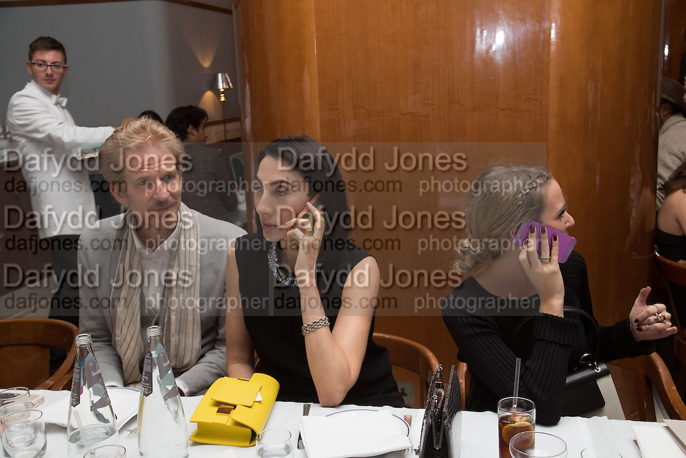 MATTHEW MODINE; ANH DUONG; COSIMA VESEY, RECEPTION AND DINNER after at Cipriani downtown. . ANH DUONG CAN YOU SEE ME. Wayne Maser & Glenn O'Brien feat. LAPO ELKANN: The Italian.ROBILANT AND VOENA. Dover st.  6 FEB 6-9pm
