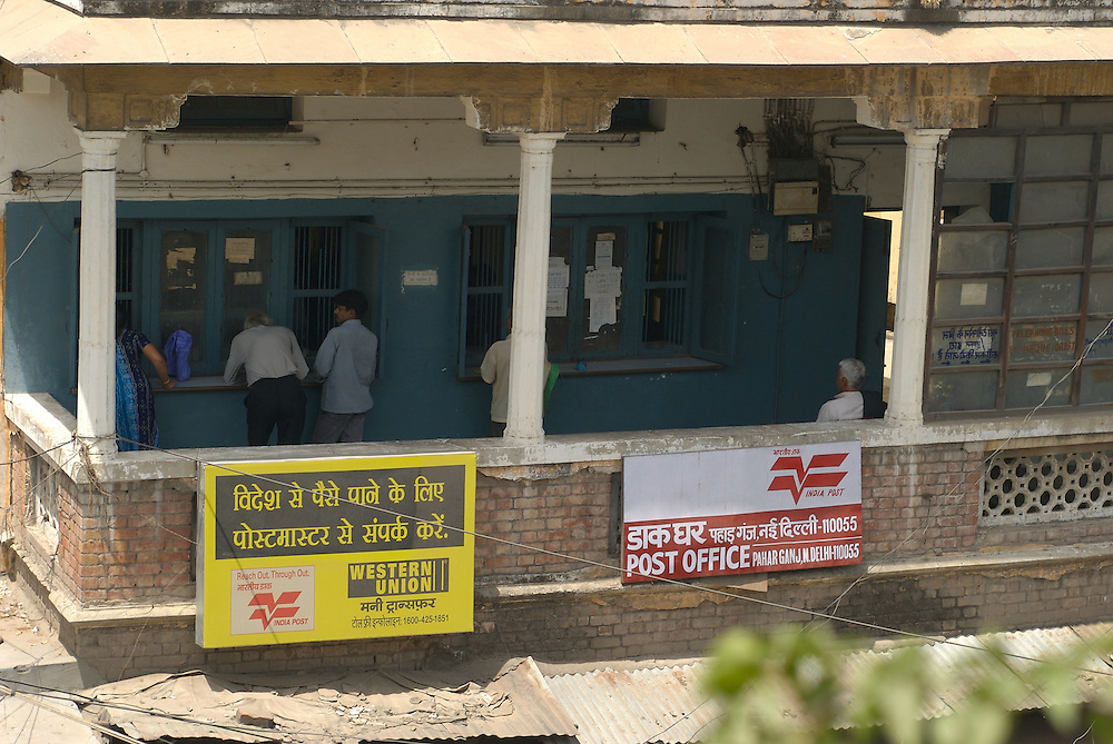 Western Union office Old Delhi, India