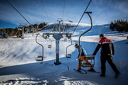 Robert Jenko, Lift Operators and Lift Maintenance at Krvavec SKI Resort, on December 21, 2016 in Krvavec, Slovenia. Photo by Vid Ponikvar / Sportida