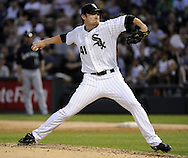 CHICAGO - JUNE 07:  Phil Humber #41 of the Chicago White Sox pitches against the Seattle Mariners on June 7, 2011 at U.S. Cellular Field in Chicago, Illinois.  The White Sox defeated the Mariners 5-1.  (Photo by Ron Vesely)  Subject:  Phil Humber
