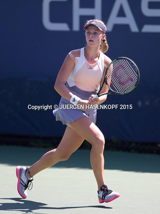 Michaela Gordon (USA) Junior GS<br /> <br /> Tennis - US Open 2015 - Grand Slam ITF / ATP / WTA -  Flushing Meadows - New York - New York - USA  - 6 September 2015.