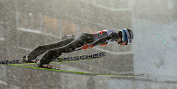 29.12.2014, Schattenbergschanze, Oberstdorf, GER, FIS Ski Sprung Weltcup, 63. Vierschanzentournee, Training, im Bild Nejc Dezman (SLO) // Nejc Dezman of Slovenia// during practice Jump of 63 rd Four Hills Tournament of FIS Ski Jumping World Cup at the Schattenbergschanze, Oberstdorf, Germany on 2014/12/29. EXPA Pictures © 2014, PhotoCredit: EXPA/ Peter Rinderer
