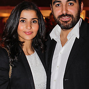 NLD/Amsterdam/20121013- LAF Fair 2012 VIP Night, Mimoun Ouled Radi en partner