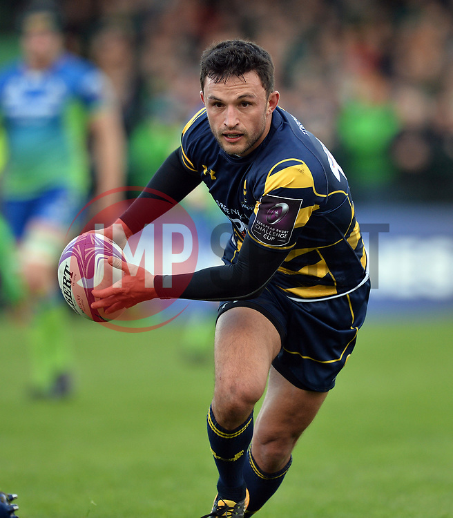 Connacht v Worcester Warriors 211017<br /> <br /> Jonny Arr of Worcester Warriors  - Mandatory by-line: Ray Ryan/JMP - 21/10/2017 - RUGBY - Sportsground - Galway, Ireland - Connacht v Worcester Warriors  - European Challenge Cup