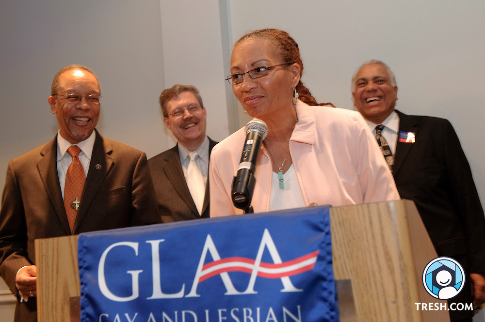 "Gay and Lesbian Activists Alliance of Washington, DC (GLAA) 2010 Distinguished Service Awards ""to local individuals and organizations that have served the gay, lesbian, bisexual, and transgender community in the national capital area."" The awards were presented at GLAA's 39th Anniversary Reception, held on Tuesday, April 20 from 6:30 to 9:00 p.m. at the Washington Plaza Hotel."